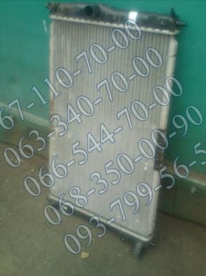 Радиатор охлаждения с кондиционером б/у Daewoo Lanos, Sens